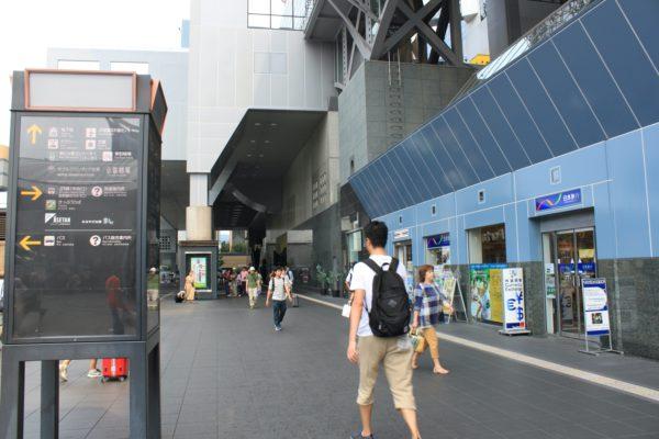 京都駅前店京都劇場の並びにメルパルク、セレマビルが見えてきます。