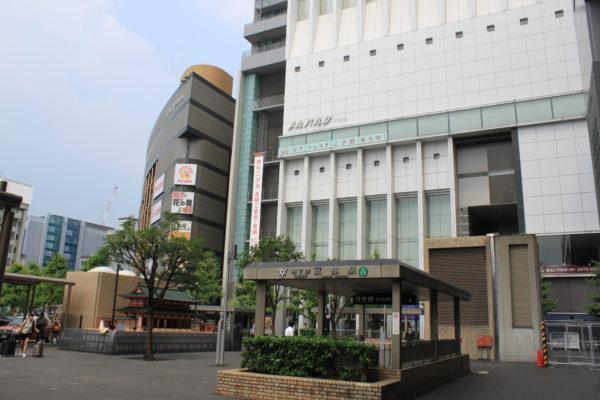京都駅前店メルパルク、セレマビルの前を通ります。
