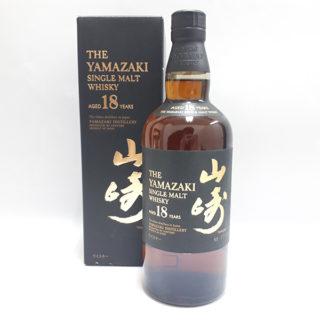 お酒サントリー 山崎 18年(箱付き)700ml