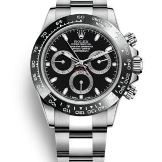 ブランド時計ロレックス デイトナ 116500 黒文字盤