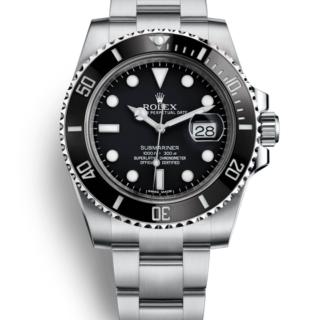 ブランド時計ロレックス サブマリーナ 116610 黒文字盤