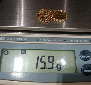 重量計の表示